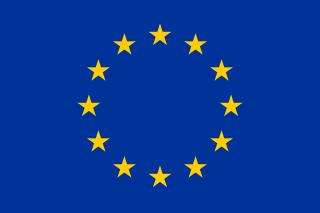The flag of European Union!