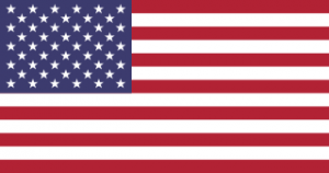 The flag of the United States of America!